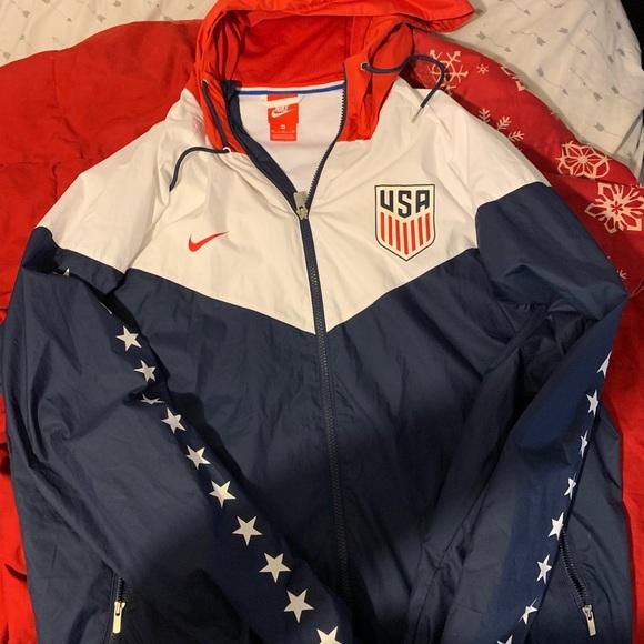 Men Xl USA Nike jacket